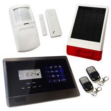 House Burglar Alarm Wireless Sentry Pro Solar Kit 1 Solar Powered Siren
