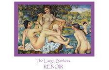 Pierre Auguste Renoir The large bathers art print