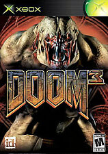 DOOM 3 Original XBOX Game  NTSC Live Online Enabled.  FREE SHIPPING!