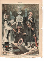1885 Puck - Radical Republicans hope for the resurrection of the Spoils System