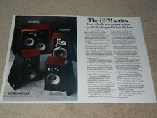 Pioneer HPM Series Speaker Ad, 1976, HPM-200,HPM-100, Article, 2 pg