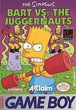 Simpsons: Bart vs. The Juggernauts (Nintendo Game Boy, 1992)