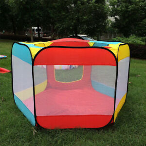 Portable Folding Playpen Baby Kids Play Yard Travel Bag Indoor Outdoor Play Tent
