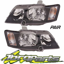 PAIR HEADLIGHTS SUIT VY COMMODORE HOLDEN 02-04 SS SV8 HEADLAMPS HEAD LIGHTS