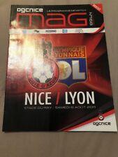 Programme Nice Lyon Ligue 1 06/08/2011