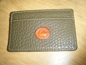 Vintage Dooney and Bourke credit card business card holder case