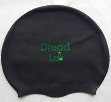 DreadLab - Medium/Large Swim Cap (Black) Dreadlocks/Braids/Weaves/Extensions