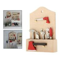 Puppenmöbel Puppenhaus Miniatur Holz Handwerkzeug Spielzeugmöbel im Maßstab
