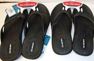 Okabashi Women's Maui Sandals. Black. Choose the size.  #A131/Z103