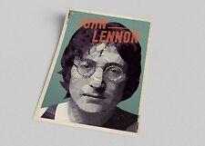 ACEO Celebrity John Lennon Pop Art Canvas Giclee Print