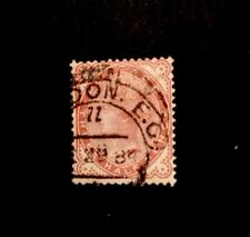 GB QV SG167 Fine Used 11/2d Venetian Red 1880