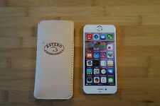 Apple iphone 6 Hand made leather case,sleeve pouch slim card and cash wallet