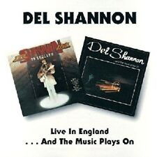 Del Shannon Live In England/...And The Music Plays On 2on1 CD NEW SEALED