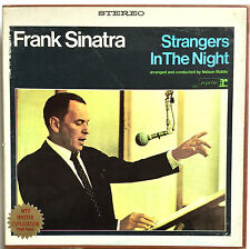 "REEL TO REEL TAPE ~ SINATRA ""STRANGERS IN THE NIGHT"" 4 TRACK STEREO 7 1/2 ISP"