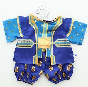 Build-A-Bear Workshop Aladdin Genie Costume Teddy Bear Accessories 027163