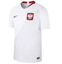Nike MEN'S 2018 POLAND Stadium Home Soccer/Football Jersey SIZE XL World Cup NEW