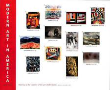 2013 46c Modern Art in America, Souvenir Sheet of 12 Scott 4748 Mint F/VF NH