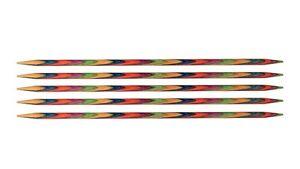 Knit Pro Nadelspiel Strumpf Stricknadel Symfonie Holz alle Größen und Längen