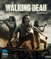 The Walking Dead - Stagione 8 - Cofanetto 4 Blu Ray - Nuovo Sigillato