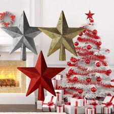 Weihnachtsbaum Stern Christbaum Sterne Glitzer Baumspitze Christmas Stars Sterne