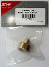 More details for zip hydrotap, 1/4 to 3/4 bsp solenoid connection adaptor – sp91553/91553uk