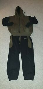 Avid Carp All in one joggers and hoody in size large