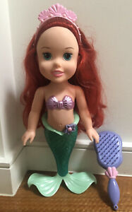 DISNEY's Ariel - she talks & includes reversible mirror/brush - Great Condition