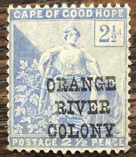 ORANGE RIVER COLONY 1900/2  2.5d Unused with Variety    (P25)