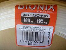 MADEJA NYLON GRAUVELL BIONIX 100 M ( 2,50 MM- 195KG  )