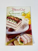 2002 Pampered Chef Seasons Best Recipe Collection Spring Summer Cookbook Booklet