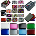 Business ID Credit Card Wallet Holder Aluminum covered Pocket Case Box