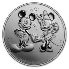 NIUE 2 Dollars Argent 1 Once Disney Mickey Minnie 2020