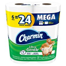 Charmin Ultra Gentle Toilet Paper Mega Rolls, 6, 12, 18, 36 Count NEW Sensitive