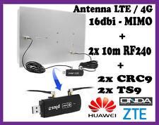 Antenna Pannello 3G 4G LTE Direttiva 16db Multibanda ZTE - Huawei E3372 E3276