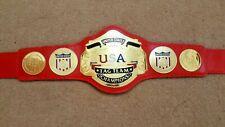 NWA US TAG TEAM CHAMPIONSHIP BELT.ADULT SIZE