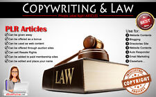 80+ PLR Articles on Copywriting and Law Niche Private Label Rights