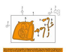 GMC GM OEM 07-14 Yukon XL 1500-Headlight-Head light Headlamp Assy Left 20969896