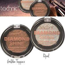 Technic Diamond Shine Super Soft Blendable EyeShadow Cream Opal - Golden Toppaz