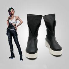 Game Cyberpunk 2077 Judy Alvarez Cosplay Shoes Costume Prop Unisex Customize