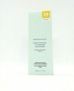 SkinCeuticals Sheer Physical Uv Defense Sunscreen Spf 50 Weightless Finish ~