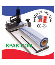 "KPAK 13"" Super Sealer Shrink Wrap Machine, Gun and Film"
