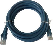 50cm CAT6A  UTP Ethernet Network LAN Cable, Snagless BLUE  replaces CAT5 CAT5E