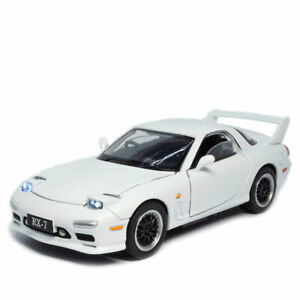 Mazda RX-7 FD3S 1:32 Model Car Alloy Diecast Toy Vehicle Collection Gift White
