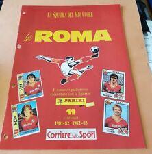 CALCIO : AS ROMA * La Squadra del mio CUORE * 1981/1982 - 1982/1983 (Panini CdS)