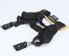 Professional Quick Double Shoulder Strap for Canon Nikon  DSLR Video Camera