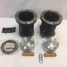 Harley Evo Drag Race S&S Cylinder Set 3 13/16th Bore 10 Head Bolt w/Pistons New