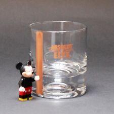 ORIGINAL ABSOLUT VODKA ELYX SHORT WHISKEY GLASS GLASSWARE NEW