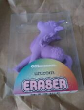 Big Purple Unicorn 🦄 Eraser Jumbo Size Office Depot School Supplies Desktop Fun