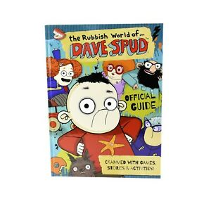 The Rubbish World of.. Dave Spud Official Guide By Dan Metcalf-Ages 7-9-Hardback
