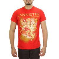 Game of Thrones House Lannister Hear Me Roar Sigil Crest Men's T Shirt S 2XL